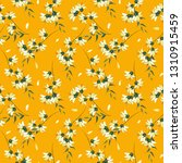 freehand flowers seamless... | Shutterstock .eps vector #1310915459
