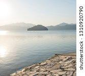 sunset lake mountains   Shutterstock . vector #1310920790