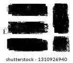 grunge paint roller . vector... | Shutterstock .eps vector #1310926940