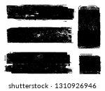 grunge paint roller . vector... | Shutterstock .eps vector #1310926946