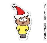hand drawn sticker cartoon of a ... | Shutterstock .eps vector #1310940749
