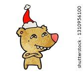 hand drawn textured cartoon of... | Shutterstock .eps vector #1310956100