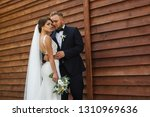 happy smiling bridesmaids on a... | Shutterstock . vector #1310969636