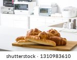 bread  french bread collection | Shutterstock . vector #1310983610