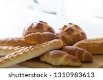 bread  french bread collection | Shutterstock . vector #1310983613
