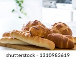 bread  french bread collection | Shutterstock . vector #1310983619