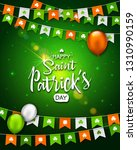 irish holiday   happy saint... | Shutterstock . vector #1310990159