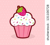 cupcake | Shutterstock .eps vector #131100728
