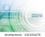 abstract business background  ... | Shutterstock .eps vector #131101670
