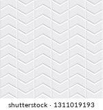 white seamless tiles texture.... | Shutterstock .eps vector #1311019193