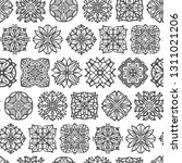 abstract seamless pattern with... | Shutterstock .eps vector #1311021206