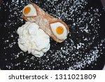 cannoli siciliani at the... | Shutterstock . vector #1311021809