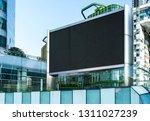 electronic led billboard | Shutterstock . vector #1311027239