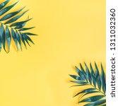 summer composition. tropical... | Shutterstock . vector #1311032360