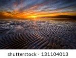 Allonby Bay Cumbria Uk