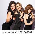 portrait of elegant young women ... | Shutterstock . vector #1311047969