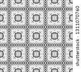 geometric seamless pattern ... | Shutterstock .eps vector #1311070760