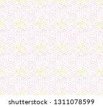 geometric repeating vector... | Shutterstock .eps vector #1311078599