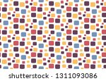 seamless pattern for fabric...   Shutterstock .eps vector #1311093086