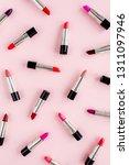 makeup pattern  texture made of ... | Shutterstock . vector #1311097946