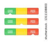 credit score indicators or... | Shutterstock .eps vector #1311108803