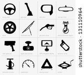 car object | Shutterstock .eps vector #131110964