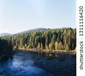 Landscape Autumn Nature Forest River - Fine Art prints