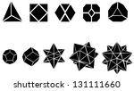set of geometric shapes | Shutterstock .eps vector #131111660