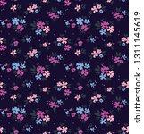 elegant floral pattern in small ... | Shutterstock .eps vector #1311145619
