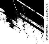 glitch grunge overlay black... | Shutterstock .eps vector #1311150776