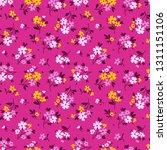 elegant floral pattern in small ...   Shutterstock .eps vector #1311151106