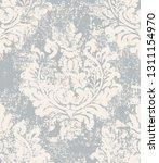 baroque grunge texture pattern...   Shutterstock .eps vector #1311154970