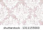 baroque grunge texture pattern... | Shutterstock .eps vector #1311155003
