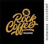 coffee shop logo | Shutterstock . vector #1311155369