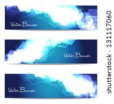 vector website header or banner ... | Shutterstock .eps vector #131117060