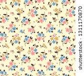 floral pattern. pretty flowers... | Shutterstock .eps vector #1311170870