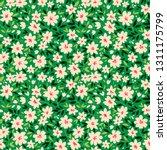 vintage floral background....   Shutterstock .eps vector #1311175799