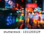 financial stock exchange market ... | Shutterstock . vector #1311203129
