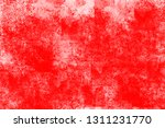 grunge red white color art... | Shutterstock . vector #1311231770