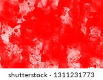grunge red white color art... | Shutterstock . vector #1311231773