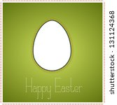 green greetings card with... | Shutterstock .eps vector #131124368