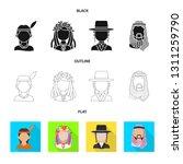 vector design of imitator and... | Shutterstock .eps vector #1311259790