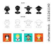 vector design of imitator and... | Shutterstock .eps vector #1311261140