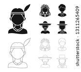 vector design of imitator and... | Shutterstock .eps vector #1311265409