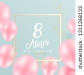 trendy cover design for 8 of... | Shutterstock .eps vector #1311268133