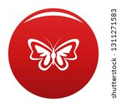 unusual butterfly icon. simple... | Shutterstock .eps vector #1311271583