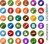 color back flat icon set  ... | Shutterstock .eps vector #1311280049