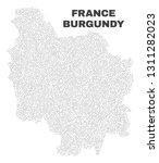 burgundy province map designed... | Shutterstock .eps vector #1311282023
