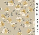 linum seamless pattern for... | Shutterstock .eps vector #1311293639