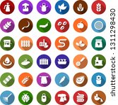 color back flat icon set  ... | Shutterstock .eps vector #1311298430